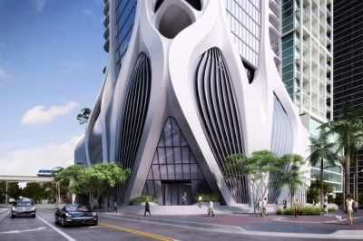 One Thousand Museum от Zaha Hadid, Майами, США