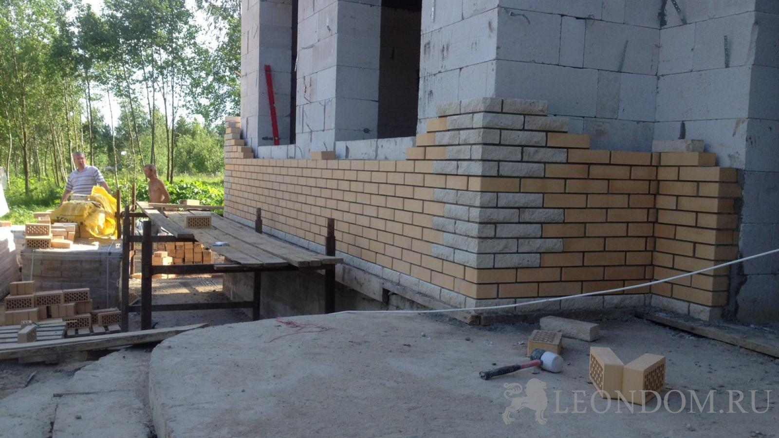 Газобетон пошаговое строительство