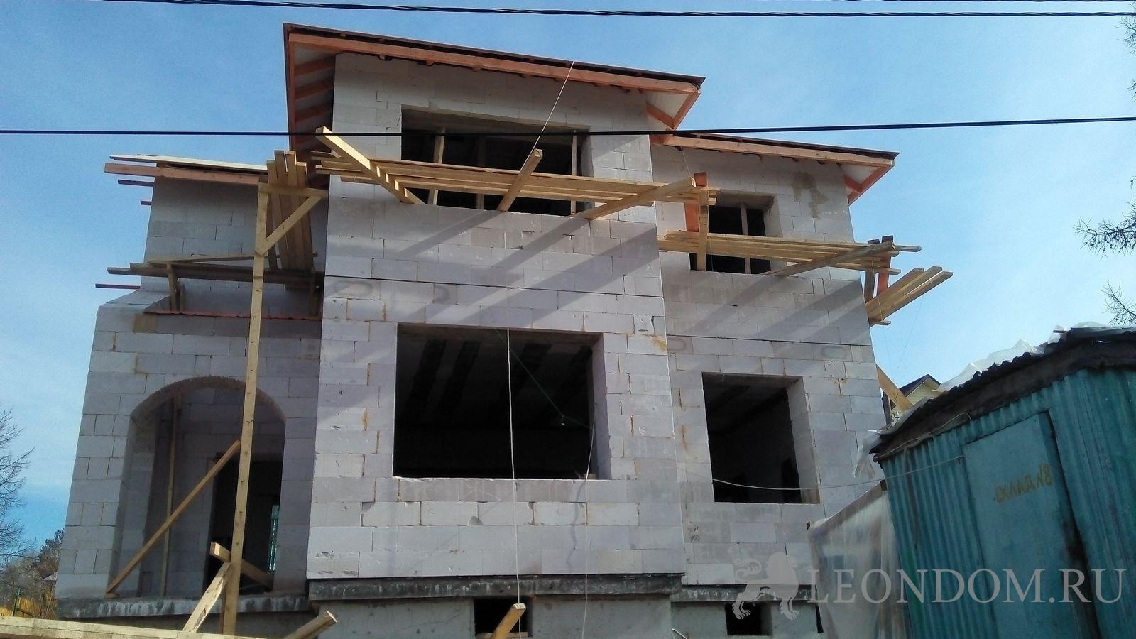 Стройка дома своими руками без опыта строительства из газобетона 60