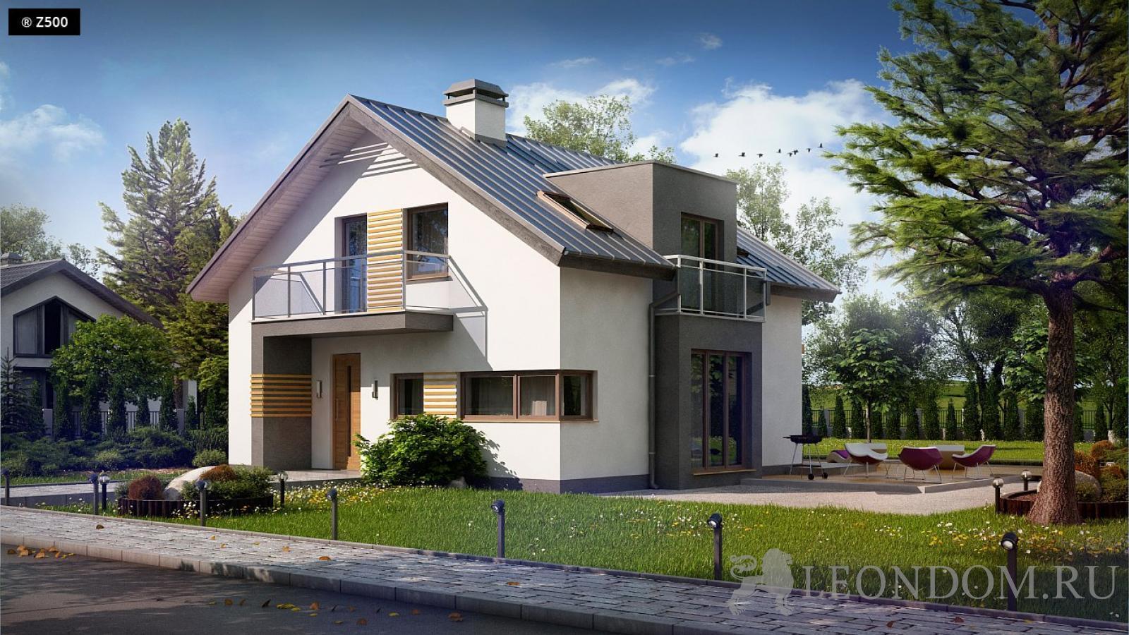 Компания Леон строит загородные дома в Москве и подмосковье из газобетона, кирпича или керамических блоков