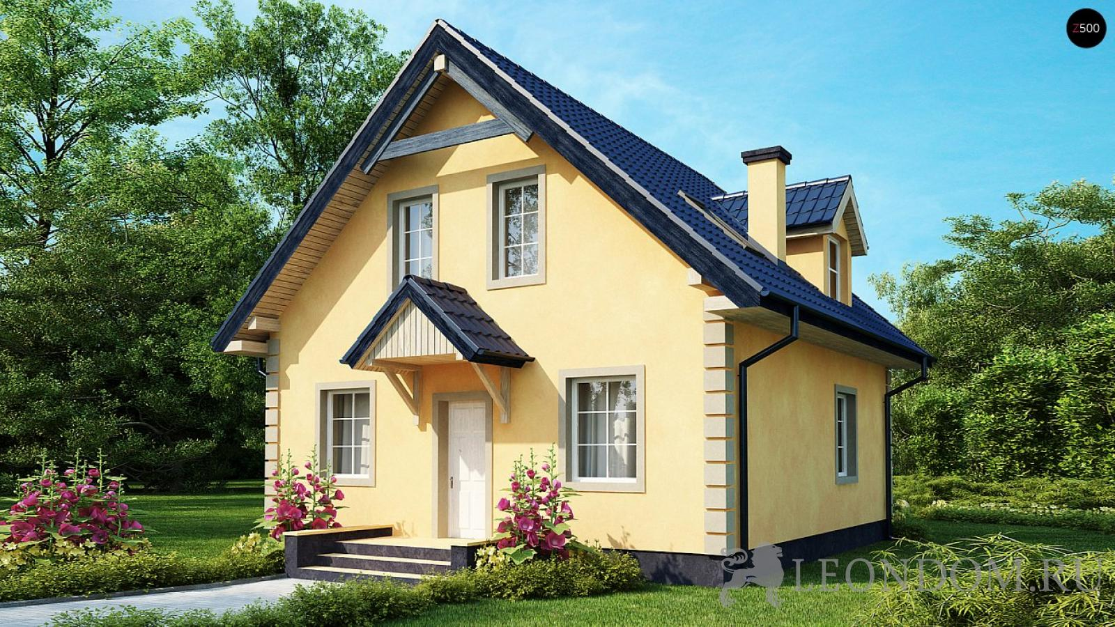 Строительство домов из газоблоков и профилированного бруса
