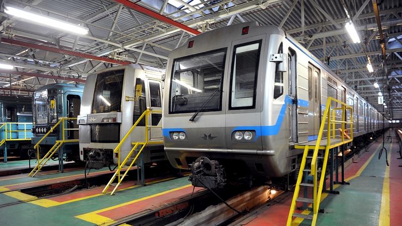 Вмосковском метро появятся вагоны обновленного поколения